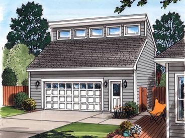 26x29 Detached Garage With Loft And Storage Add Solar Panels Maybe A Deck 2 Car Garage Plans