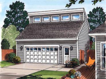 26x29 Detached Garage With Loft And Storage Add Solar