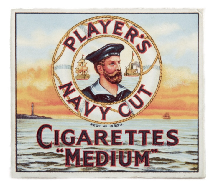 Cigarette packet, John Player & Sons c.1940-1959 my grandad smoked Players