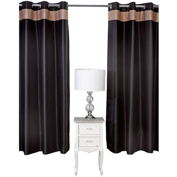 25+ Best Ideas About Black Eyelet Curtains On Pinterest