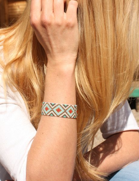 Armbänder - Ethno-Armband - ein Designerstück von illou bei DaWanda