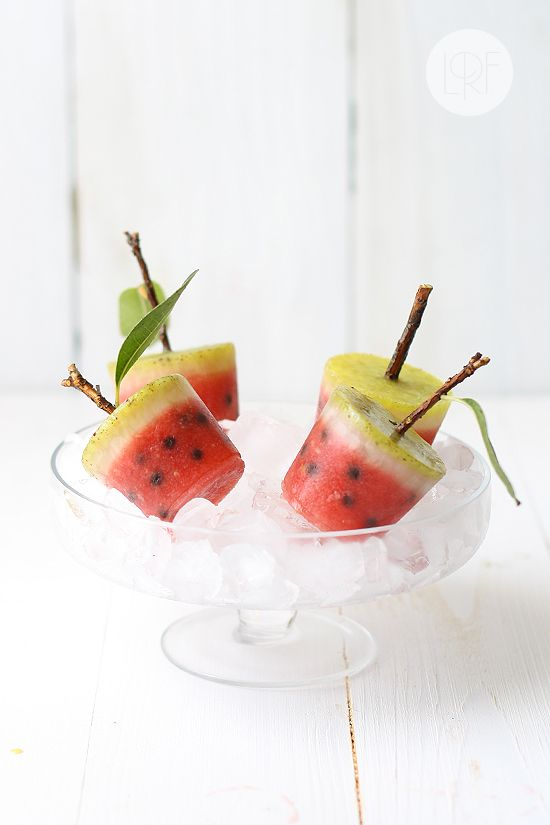 Watermeloen IJslolly - Watermelon Popsicle #kids