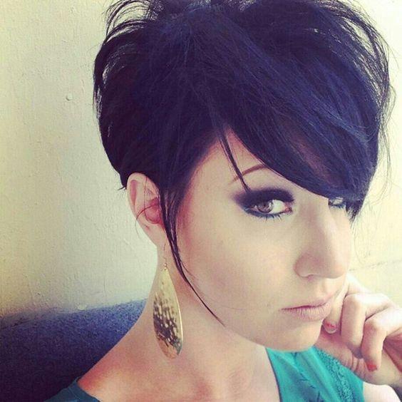 Deze is speciaal voor alle liefhebbers van kort zwart haar.