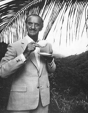 David Niven - an elegant actor who personified class and style - left us too soon in 1983. A manly man who loved his tea.