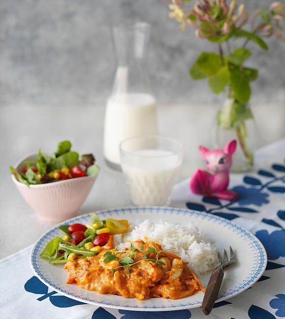 Mera vego - vegetarisk mat för hela familjen | HALLOUMI STROGANOFF