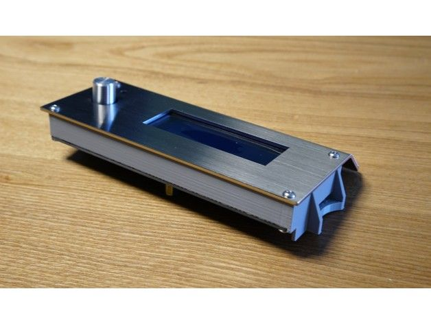 Smart LCD frame for Infinity X1 3DP by eric_chu - Thingiverse