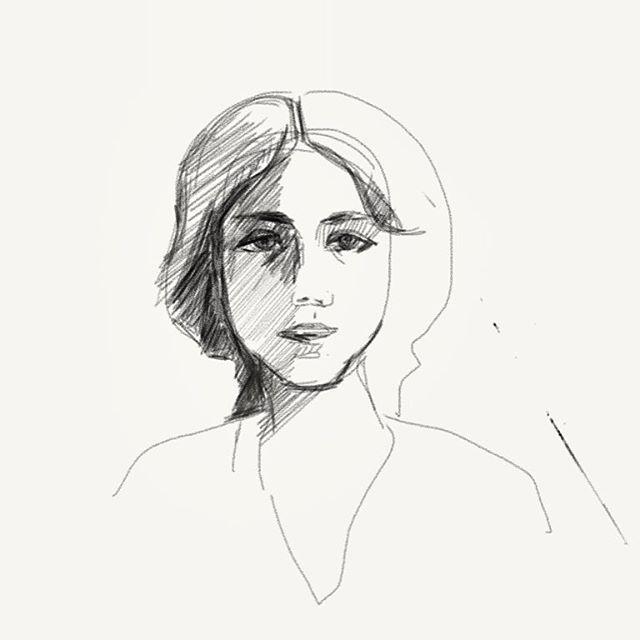 #graphics #графика #рисунок #девушка #портрет #шретерарт #арт #планшетноетворчество #girl #shreterart #art #digitalart