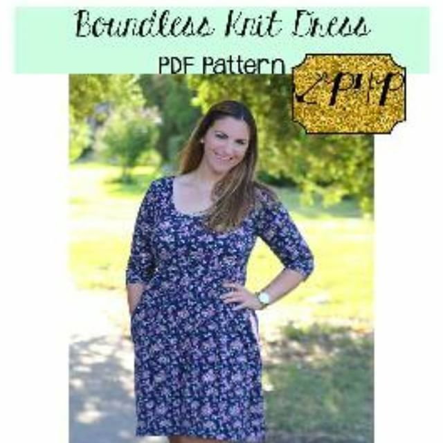 #newrelease #onsale #boundless #boundkessknitdress #patternsforpirates #pdfpattern #sewing #handmade #selfcaresewing #selfishsew #trendy #somanyoptions #isew #memadewardrobe #sistersmakethebestcovermodels