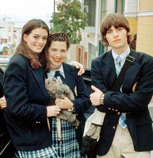 Anne Hathaway, Heather Matarazzo, And Robert Schwartzman