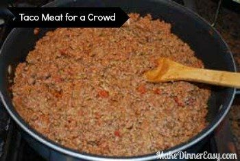 taco meat for a crowd