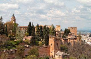 Paseo de las Torres, La Alhambra.