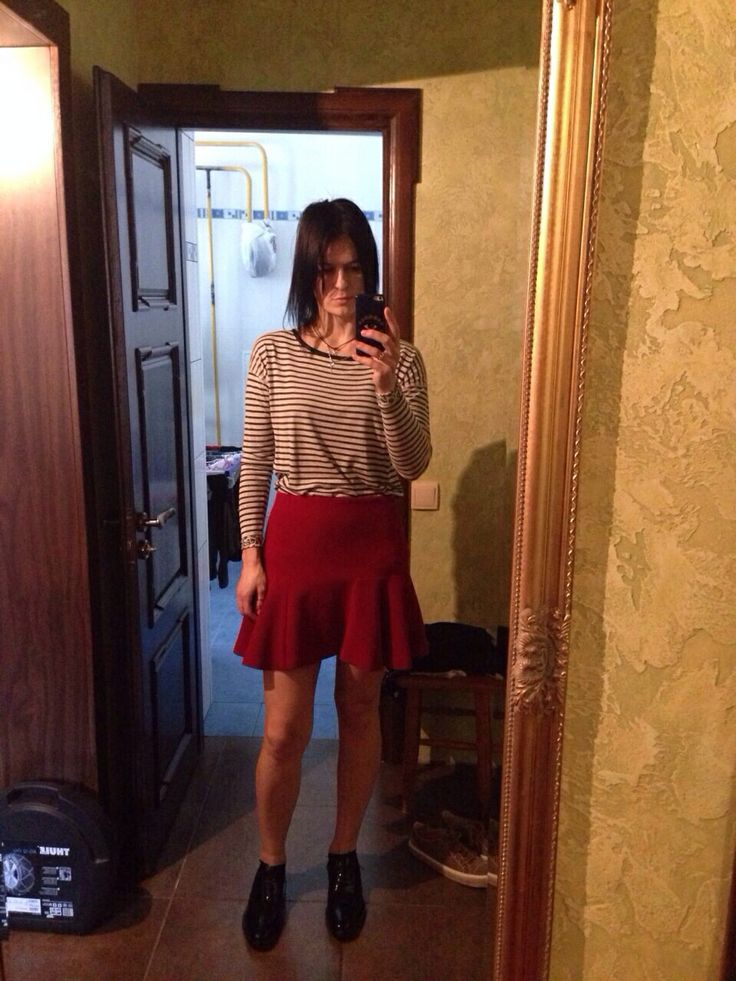 A red skirts day)
