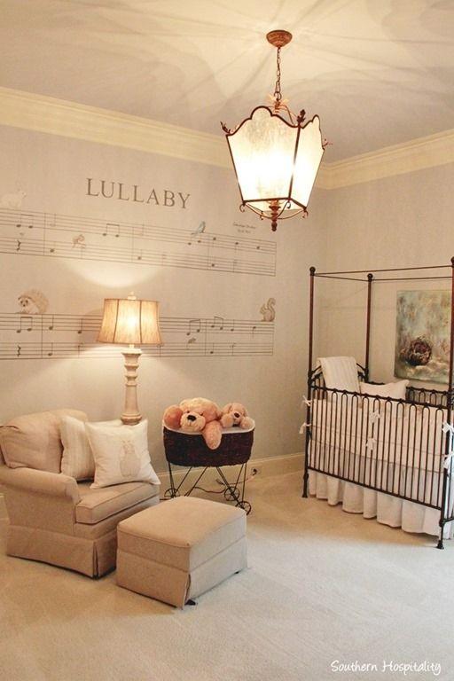 arnold nursery. On Southern Hospitality blog 12/9/2014.  I love this idea for a nursery!