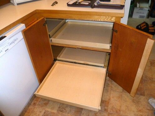 25 Best Ideas About Corner Cabinet Solutions On Pinterest