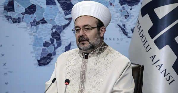 """Diyanet İşleri Başkanı Mehmet Görmez'in """"cemevlerinin caminin alternatifi gösterilmesi kırmızı çizgimizdir"""" şeklindeki sözleri tartışma yaratırken, Diyanet'in intern.."""