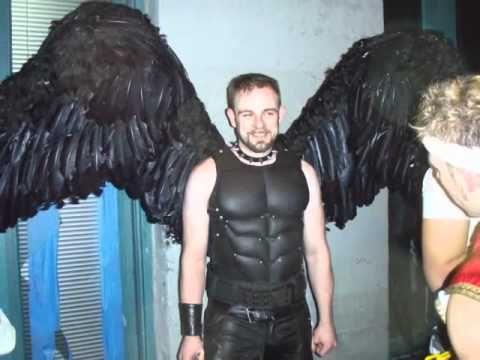 Alas Para Disfraz de Angel.wmv - YouTube