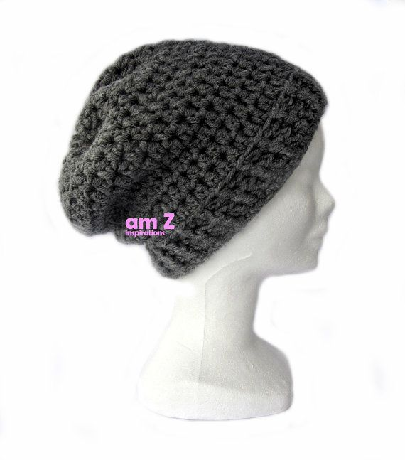 Crochet beanie Winter hat Knitted beanie by amZinspirations