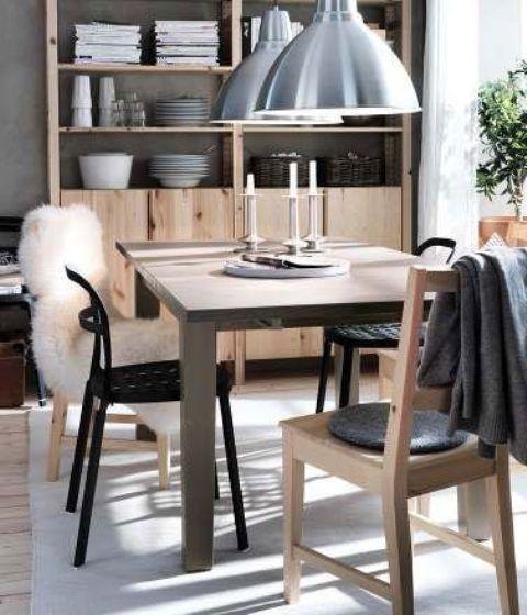 22 besten IKEA Yemek Odaları Bilder auf Pinterest Ikea - ikea esstisch beispiele skandinavisch
