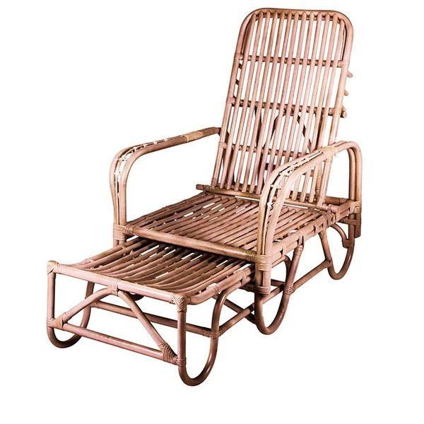 Rattan Lounger Chair From Broste Copenhagen Rattan Lounger Chair Outdoor Chairs