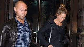 Derek Jeter and Hannah Davis Show Off Her Huge Engagement Ring in New York  See the Pics!