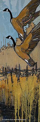 Jean-Pierre Guay, 'Berthier', 8'' x 24'' | Galerie d'art - Au P'tit Bonheur - Art Gallery