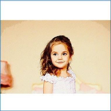 A crayon #art effect applied to your #kids #photo at www.jazzypics.com