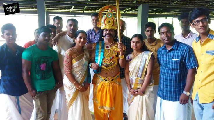 Onam celebration at Vythiri Village Resort was all the more colourful this year. Take a look at our very own Mahabali and the festivities. Come join us for a traditional Kerala sadya on September 14, 2016.  #onam #kerala #settumundu #mavali #onam2016 #india #indiafestival #happiness #luxuryresort #wayanad #kerala #travel