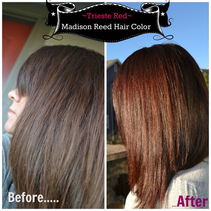 Madison Reed Hair color: Trieste Red 5nrm Review! Before and After hair color results