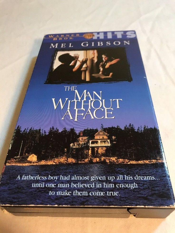 THE MAN WITHOUT A FACE VHS MOVIE- MEL GIBSON