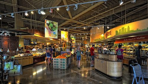 eatdrink and tourist Austin / original and HQ Whole Foods, 525 N. Lamar. Natch