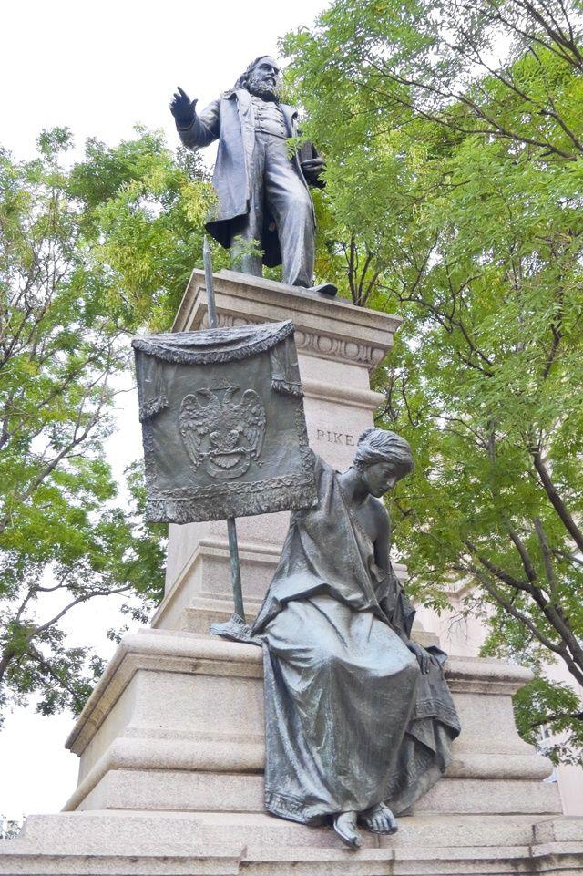 Albert Pike Memorial in Washington DC