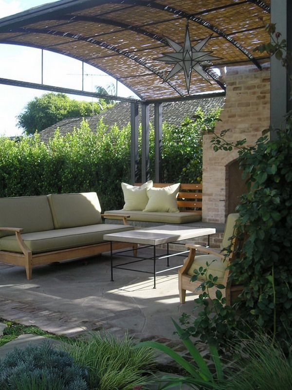 Patio Bamboo Covers Ideas
