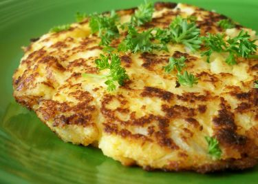 Cauliflower Cheese Patties Recipe - Genius Kitchen