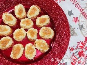 Crostini con Baccalà e Cipolle caramellate