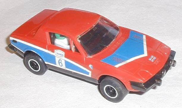 Scalextric car C130 Triumph TR7 No 6