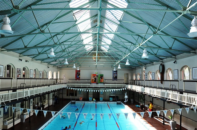 Need to escape the hot Melbourne summer? Head down to the Melbourne City Baths on Swanston street. Built in the 1860 they caused a scandal in 1947 when they introduced mixed bathing.