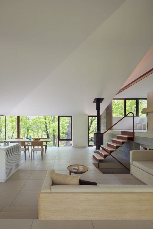 Villa In Nagano By Cell Space Architects Interior Pinterest