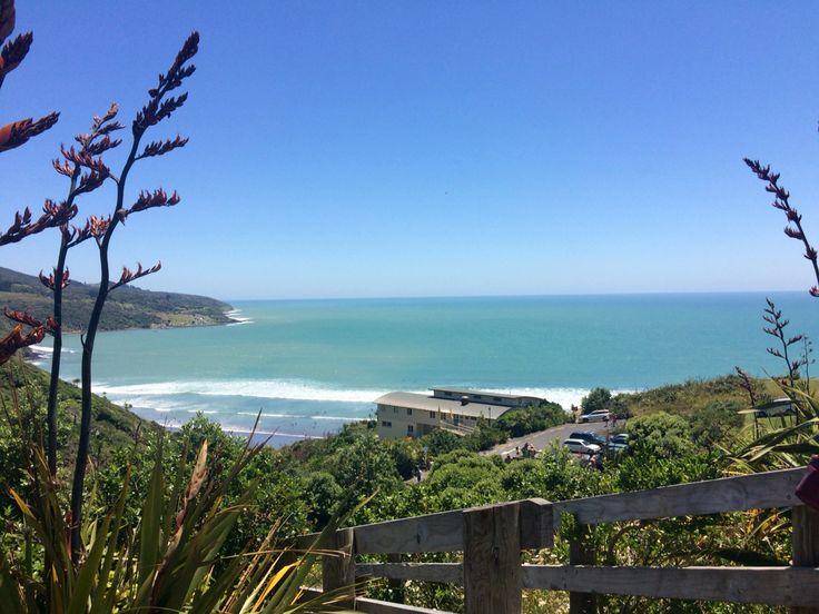 Raglan beach, New Zealand