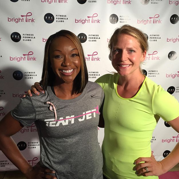 Carmelita Jeter Honors Her Aunt at FitFest Before Taking on Rio - A Sweat Life