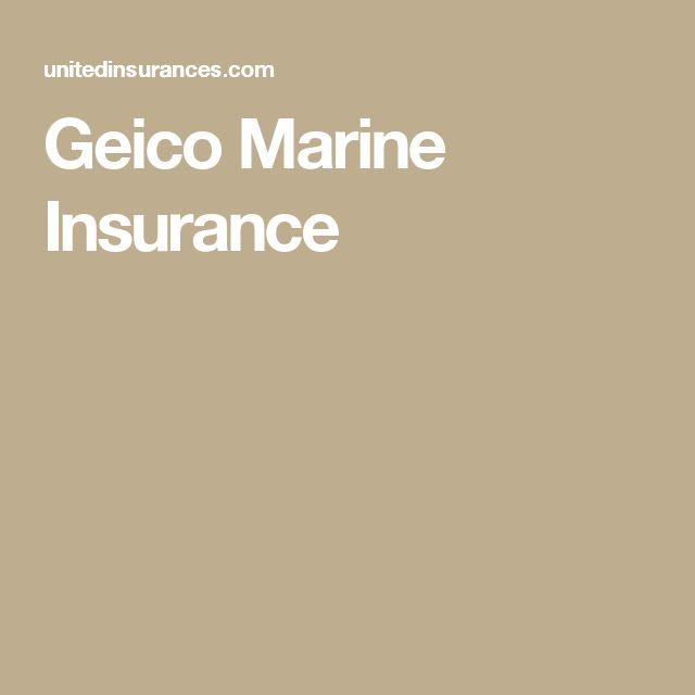 Geico Marine Insurance