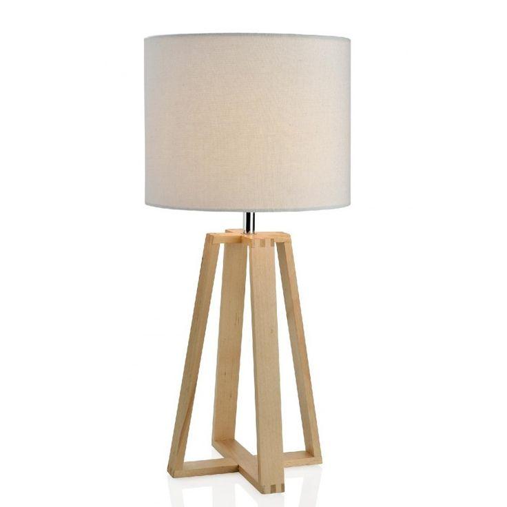 Lámpara de Madera Triangular - Marabillas