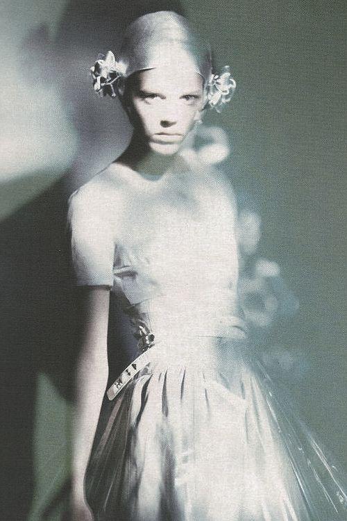 Freja Beha Erichsen In All That Shine By Photographer Paolo Roversi | Vogue Italia, Feb. 2007.