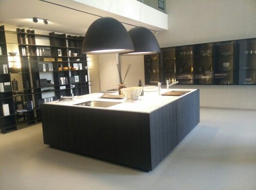 Modulnova Float Kitchen In Rovere Fossil And Marble