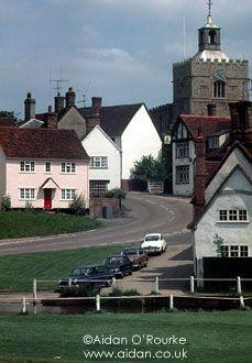 Village of Finchingfield, Essex, England, UK