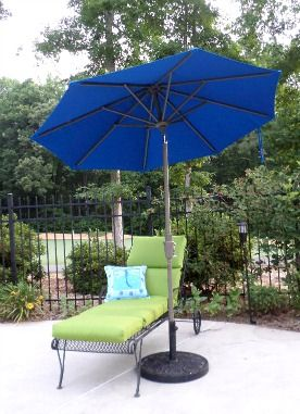 There Is More To Picking Out A Patio Umbrella Base Than Just The Material,  Design