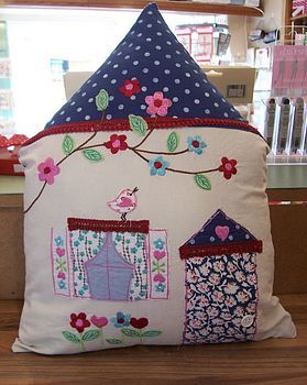 House cushion (great gifts for new homeowners!)