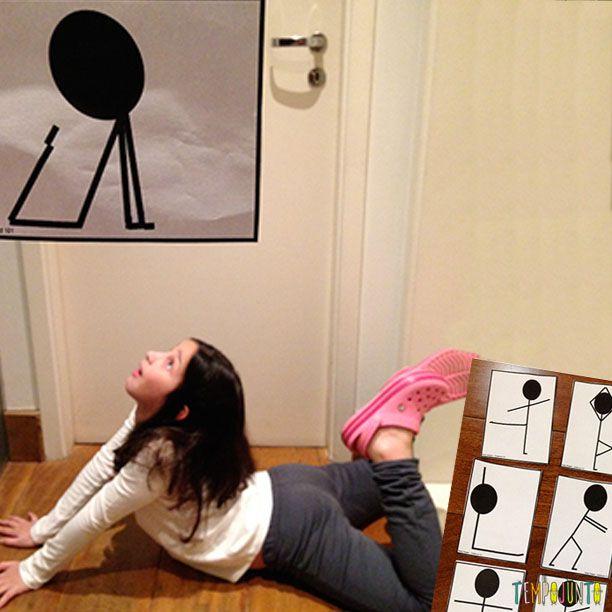 Tire as crianças do sofá com esse concurso de poses! Está sem ideias pra brincadeira em grupo? Essa é ótima pra fazer com as crianças!