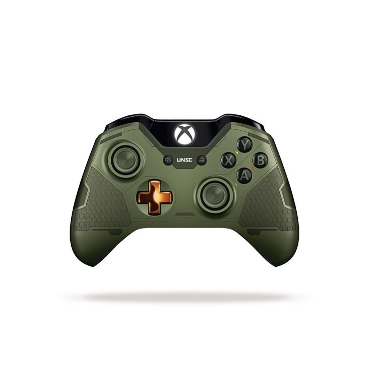 Xbox One Limited Edition Halo 5: Guardians The Master Chief Wireless Controller, Black