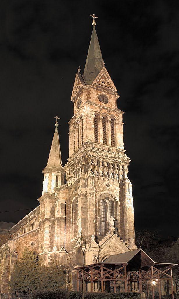 Assisi Szent Ferenc templom, Budapest, Hungary