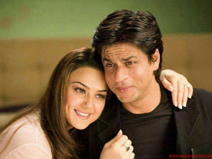 Preity Zinta & Shahrukh Khan (Kabhi Alvida Naa Kehna)